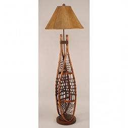 Coast Lamp Manufacturer 12-R6A Stained Snow Shoe Floor Lamp