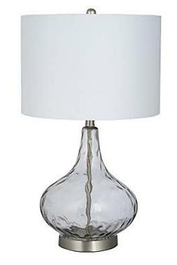 Catalina Lighting 21900-001 Classic Crystal Stacked Ball Flo