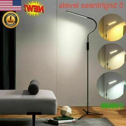 Adjustable LED Floor Lamp Light Standing Reading Living Dimm