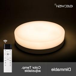 24W Ceiling Round Light Dimmable Flush Mount Kitchen Lamp Pa