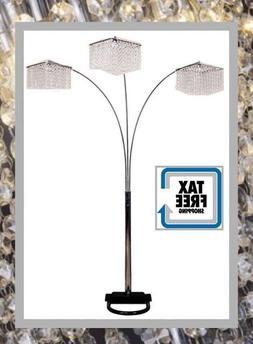 3 Crystal Inspirational Floor Lamp Lighing Light Shape Conte