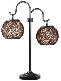 Kenroy Home 32246BRZ Castillo Outdoor Floor Lamp