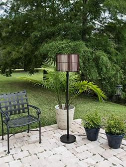 Kenroy Home 32280BRZ Bora Outdoor Floor Lamp, Bronze Finish