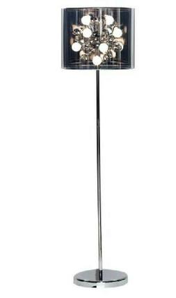 Adesso 3261-22 Starburst Floor Lamp, Steel, Smart Outlet Com