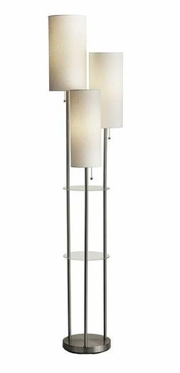 Adesso 4305-22 Trio Floor Lamp, 68.00 x 14.00 x 11.70 inches