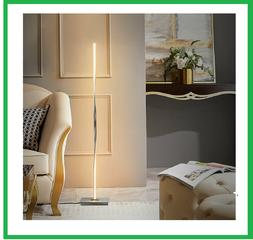 "48""Helix LED Floor Lamp Standing Pole Light W/Built-In Light"