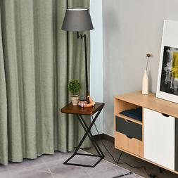 """HOMCOM 65"""" Floor Lamp with Table Extendable and Retractable"""