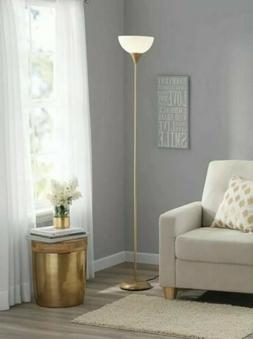 """Mainstays 71"""" Torchiere FLOOR LAMP BLACK Finish for Home & O"""