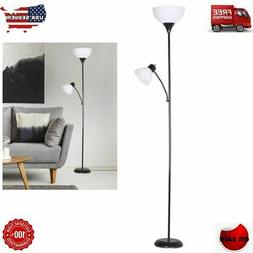72 Inch Floor Lamp Living Room Light Stand Scoop Shade Readi