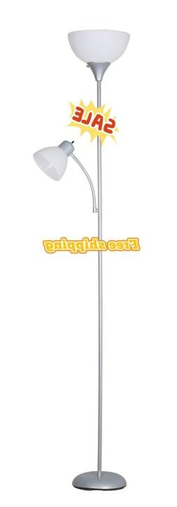 🌟72'' Tall Floor Lamp🌟With Additional Adjustable Readi