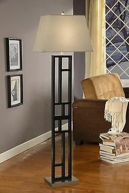 Artiva USA A21036FLB Perry Metal Floor Lamp