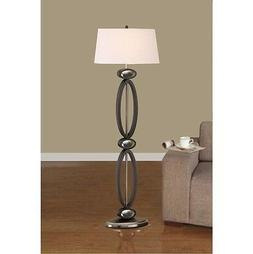 Artiva USA A21107ML Infinity Dark Walnut Floor Lamp