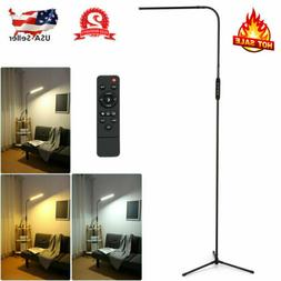 adjustable led floor lamp 10w remote standing