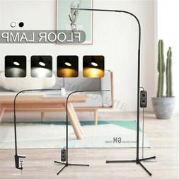 adjustable led floor lamp standing reading home