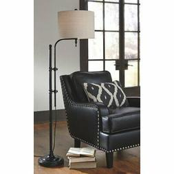 Signature Design by Ashley Anemoon Metal Floor Lamp, White