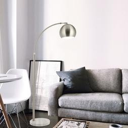 Arc Floor Lamp Arch Lamp Adjustable Arm Length with Marble B