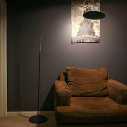 Brightech Atlas LED Arc Floor Lamp - Dimmable Contemporary M