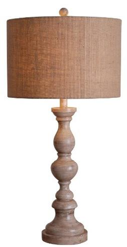 Kenroy Home Bennett Table Lamp, Toasted Almond