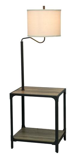 Better Homes and Garden 4 Foot 7 Inch End Table Floor Lamp w