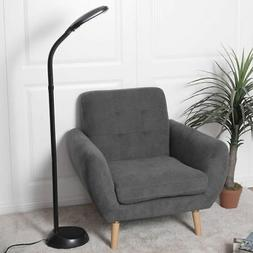 Black 5Ft Tall Deluxe Sunlight Floor Lamp Natural Reading Li