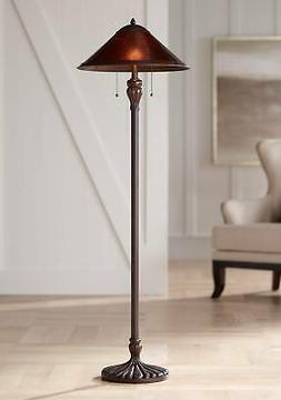 Capistrano Mica Shade Floor Lamp