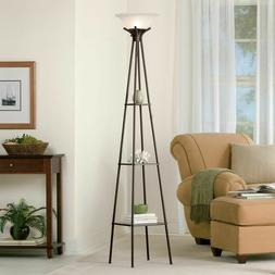 Decorative Etagere Floor Lamp 69 Inch 3 Way Rotary with Thre