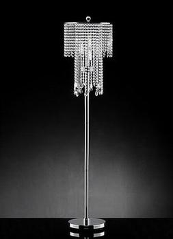 Diana Crystal Floor Lamp