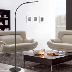 2PCS Dimmable Eye-Care LED Floor Lamp w/ Remote Control Swit