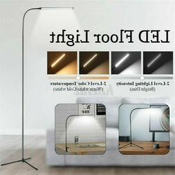 Dimmable LED Floor Lamp Light 4 Modes Adjustable USB Reading
