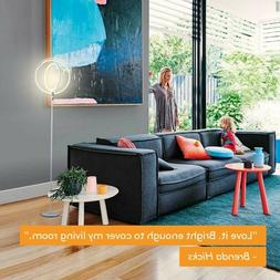 Brightech Eclipse LED Floor Lamp - Super Bright & Dimmable M