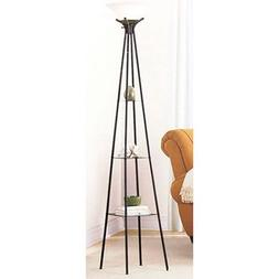 etagere floor lamp finish