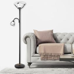 ETL Listed Torchiere Floor Lamp w/ Side Reading Lamp Hot