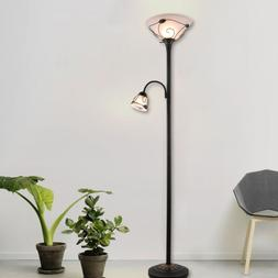 ETL Listed Torchiere Floor Lamp w/ Side Reading. Lamp