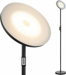 JOOFO Floor Lamp,30W/2400LM Sky LED Modern Torchiere Remote