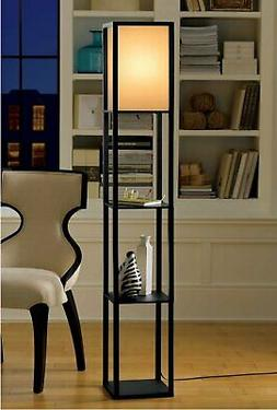 Floor Lamp with Shelves by Light Accents - Shelf Floor Lamp