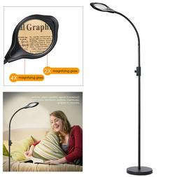 Floor Lamps For Reading LED Magnifying Standing Daylight Bri