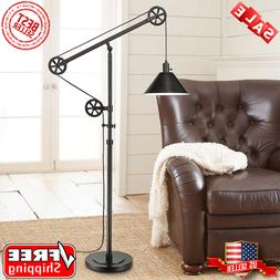 Industrial Floor Lamp Rustic Modern Farmhouse Lighting Mecha