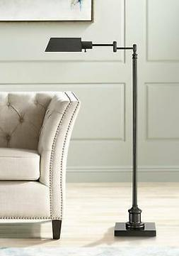 jenson dark bronze pharmacy floor lamp