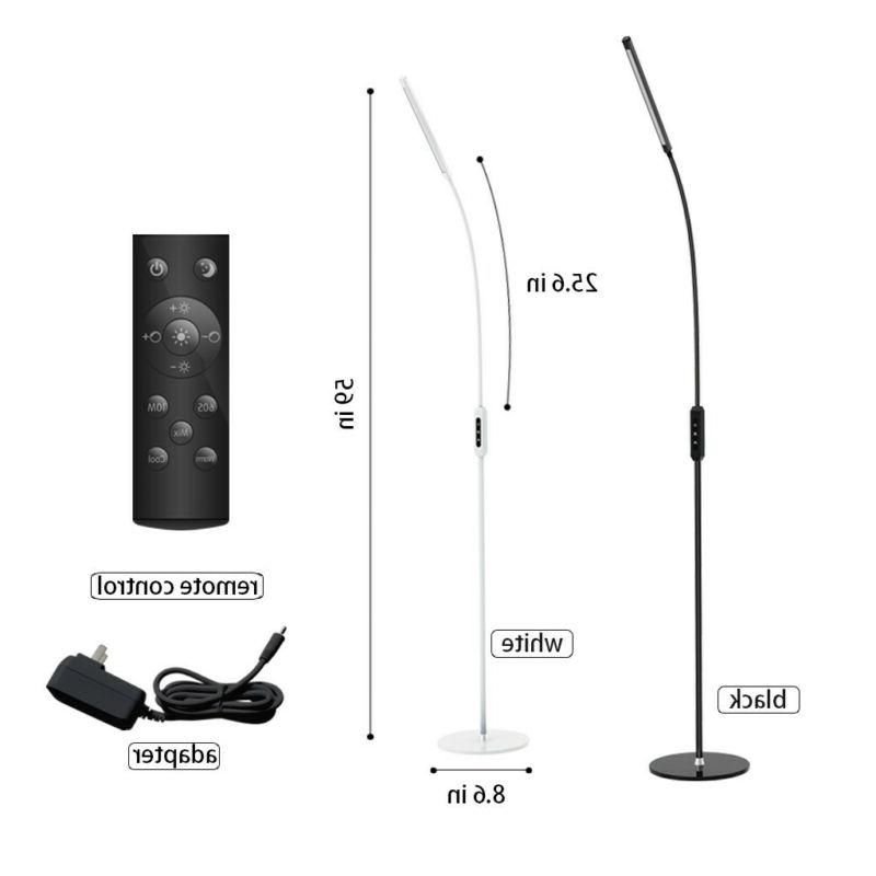 Adjustable-Dimmable - LED Floor Lamp - Light Reading - 10W R