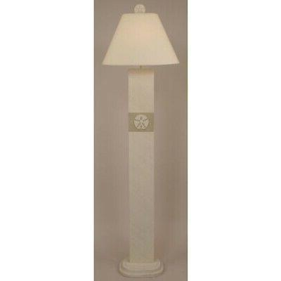 Coast Manufacturer Cottage & Sisal Dollar Panel Lamp -