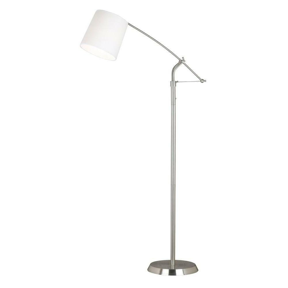 20812bs reeler adjustable floor lamp