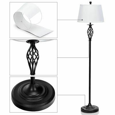 3-Piece Lamp 2 Table 1 Lamp Shades Living