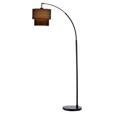 Adesso 3029-01 Gala Arc Lamp with, Smart Outlet Compatible,