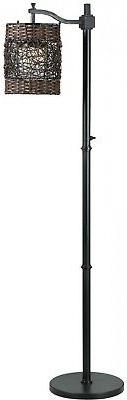 Kenroy Home 32144ORB Brent, Outdoor Floor Lamp, Oil Rubbed B