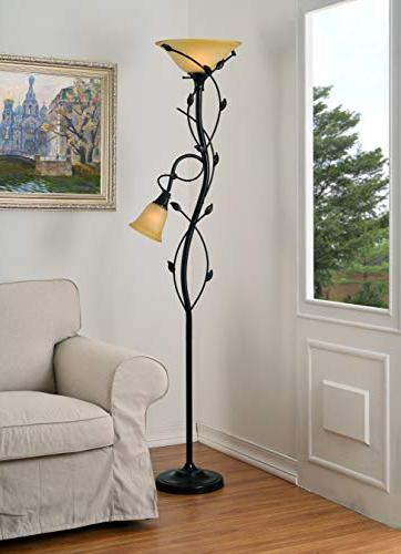 Kenroy Floor Lamp/Torchiere, Height, Oil Rubbed