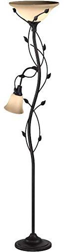 Kenroy 32241 Floor Lamp/Torchiere, 72 Inch Height, Oil Rubbed