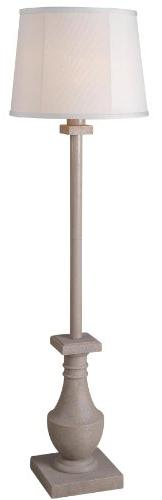 "Kenroy Home 32269COQN Patio Outdoor Floor Lamp, 17"" x 17"" x"