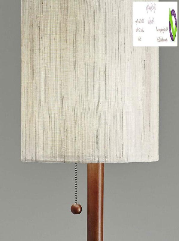 """Adesso 3338-15 Floor Lamp Smart Outlet 65"""","""