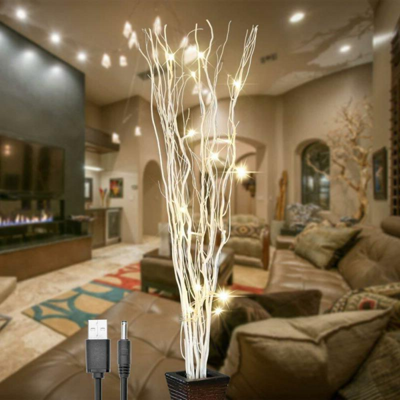 Lightshare 36Inch Natural Willow Lighted For