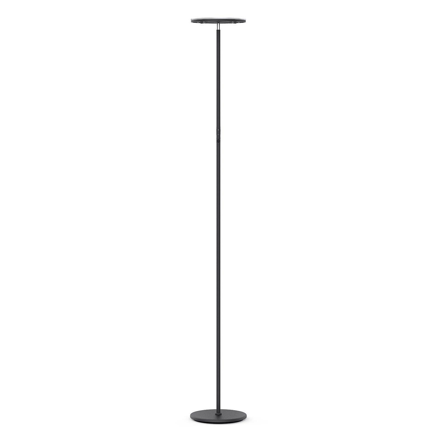 Vacnite 36W LED Torchiere Floor Lamp Energy Saving Dimmable